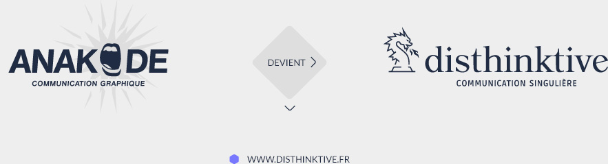 Anakode devient Disthinktive